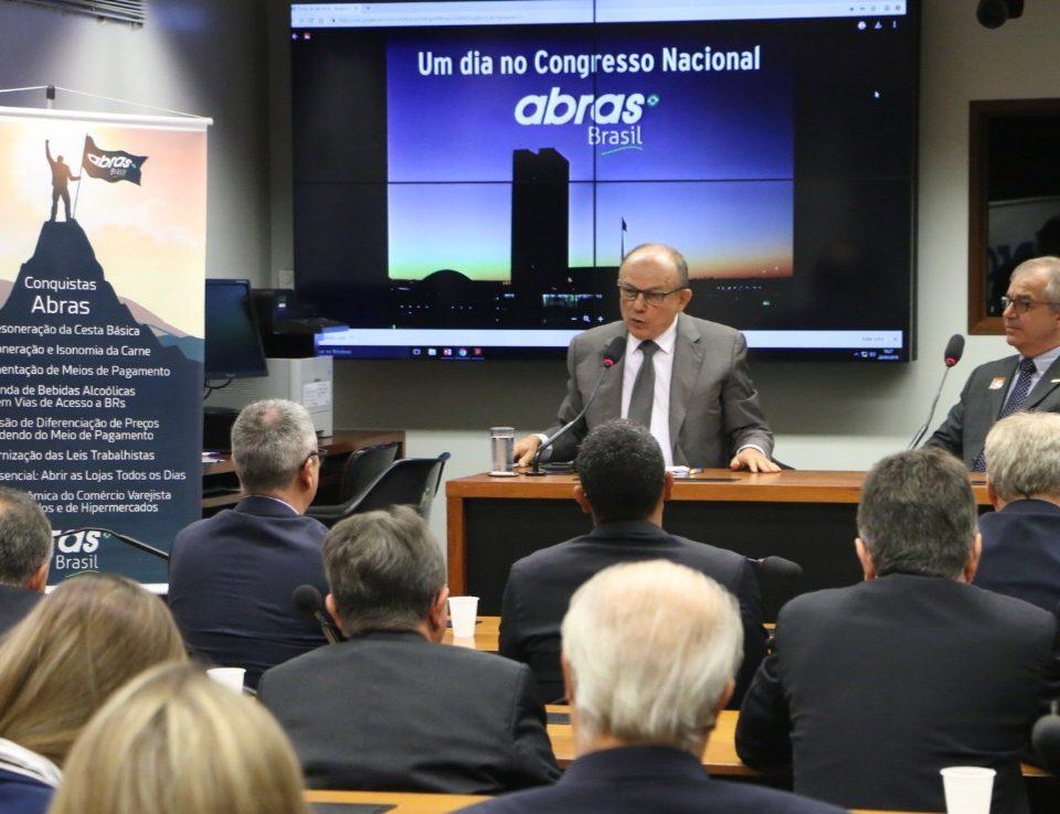 Sr. Honório Pinrheiro -ABRAS no Congresso Nacional
